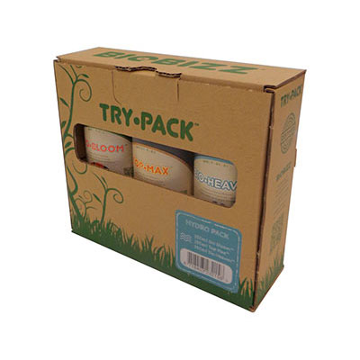 Try-Pack Hydro Pack, pack of 3 (250 ml ea)